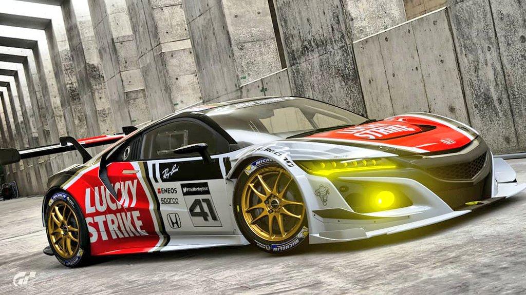 BAR Honda F1 Team inspired livery now available on #GTSport  🔄&♥️ appreciated 😋  #GranTurismoSport #GranTurismo #Honda #GranTurismoPhotography #HondaRacing #LiveryDesign #Design #Livery #F1 #Formula1 https://t.co/swnJaA8ug0