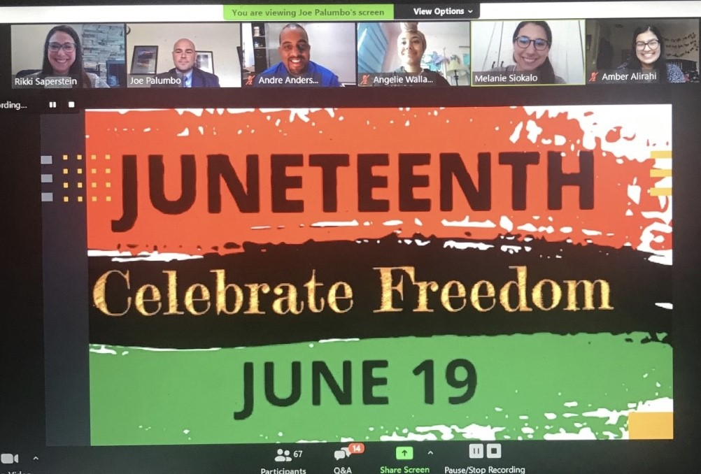 Thank you to everyone who made our 1st annual Juneteenth Celebration at Pleasantville High School possible. Follow the link below to access the event on-demand if you were not there for the live event. https://t.co/Xl2KwzXMiq https://t.co/0yXI9pFlL0