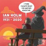 Image for the Tweet beginning: Remembering #IanHolm
