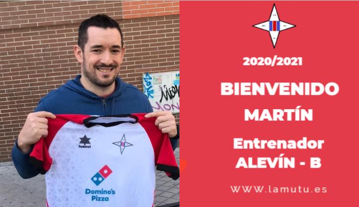 Martín se incorpora a la familia de la Mutu como entrenador del Alevín-B.  ¡Te deseamos muchos éxitos! ¡¡Bienvenido!! #juntossomosmasfuertes #equipo #ilusión #respeto #futbolbase #vamosmutu #lamutualjuan23 #lamutualjuanxxiii https://t.co/ajQQt6IARW