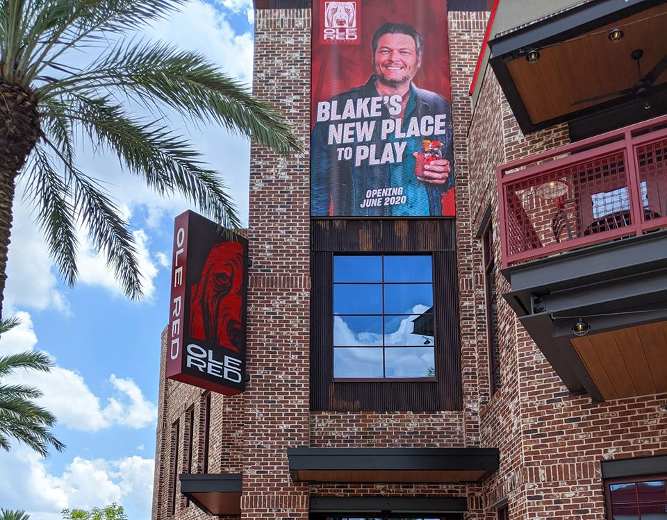 Todays the day! Yall help us welcome #OleRedOrlando to the Ole Red family. ❤️ 🐾 🌴