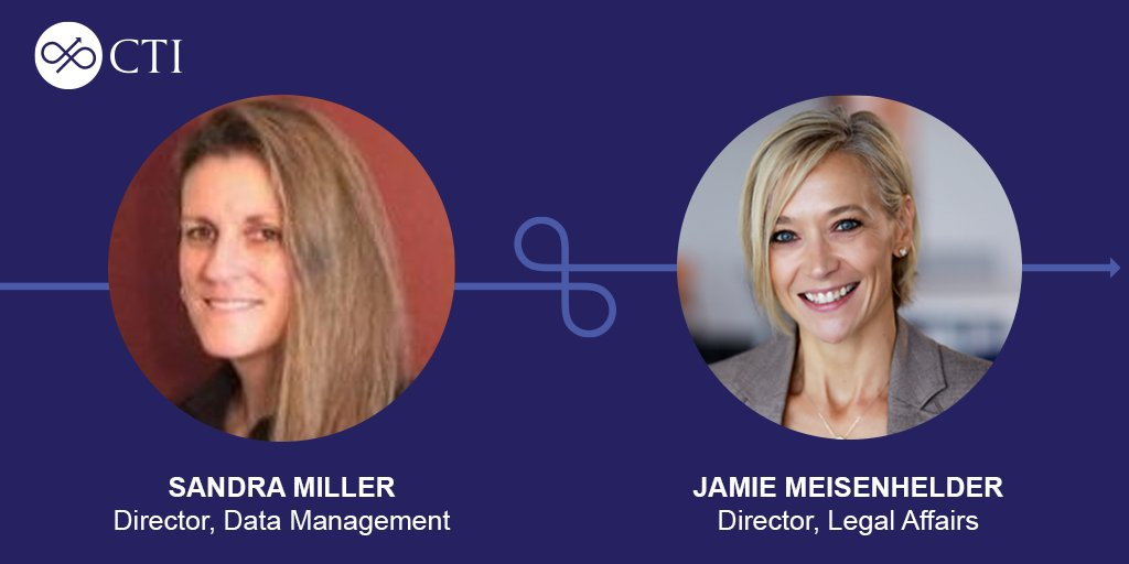 We are thrilled to announce the addition of Sandra Miller to our data management team as well as the promotion of Jamie Meisenhelder to Director, Legal Affairs!  https://t.co/Z6ISJ4Qftn https://t.co/xa2z8NgFPn