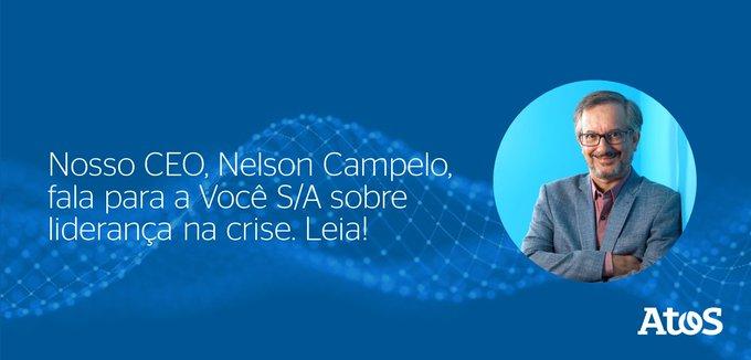Confira as dicas do nosso CEO, Nelson Campelo, sobre lideran?a na crise a para...