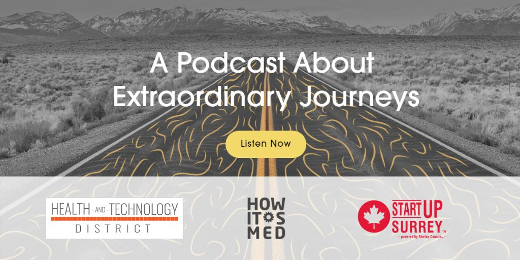 We're pleased to sponsor @HowItsMed, a new podcast about medical innovations and healthcare leaders, by this rockstar team Abdo Elhosary, Geoffrey Ching & Rod Vafaei. Check out their latest episode: https://t.co/ghfDeMkkmU #medical #innovation #technology #biomedical #healthcare https://t.co/l58ye2LJMU