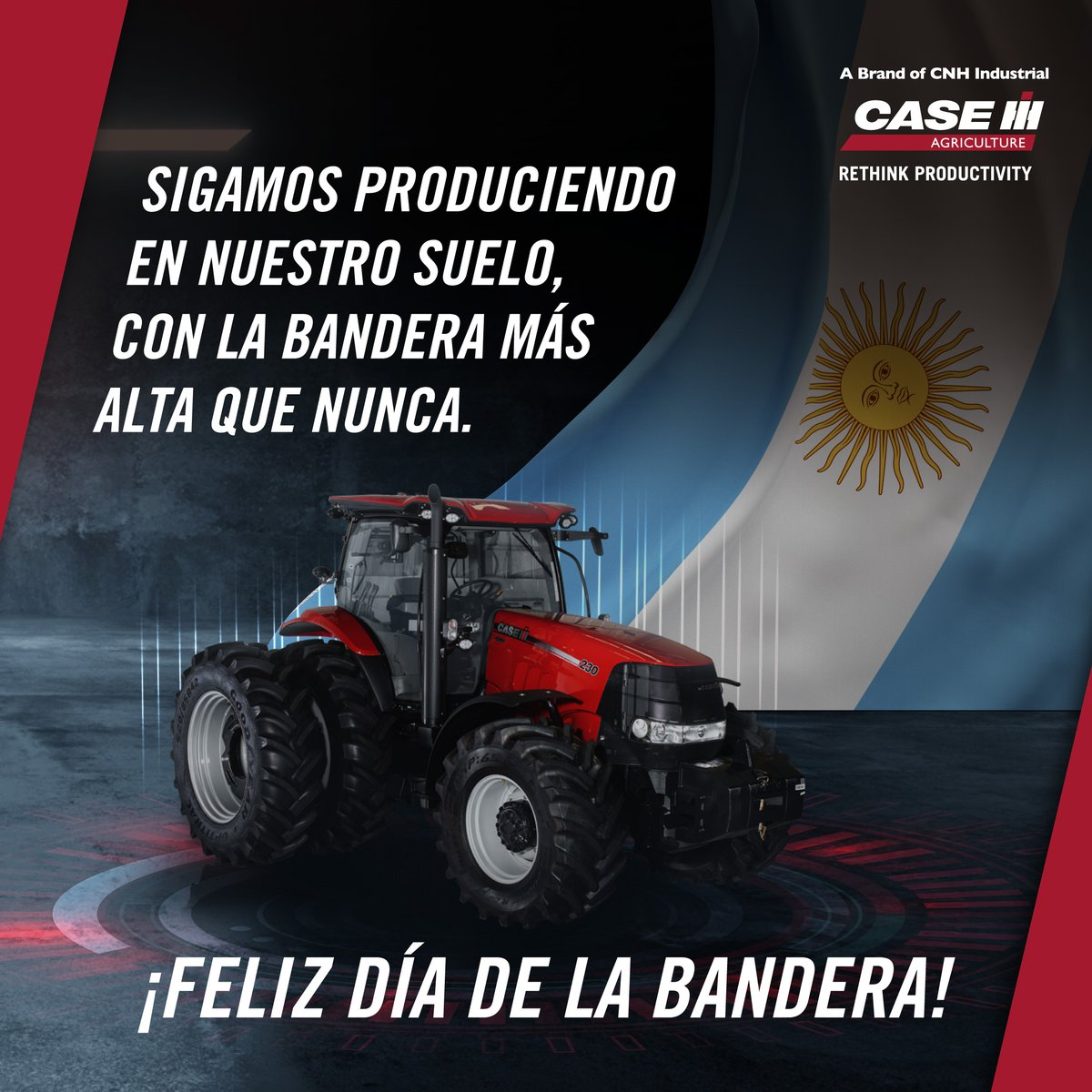 Hoy celebramos el día de todos los argentinos, responsables de defender con orgullo el máximo emblema de nuestra patria en cada chacra y en cada lote de los campos albicelestes. ¡Feliz día! #DíaDeLaBandera. https://t.co/jCBHmriX1c