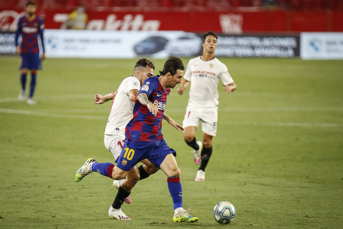 Xem lại Sevilla vs Barcelona, La Liga – 20/06/2020
