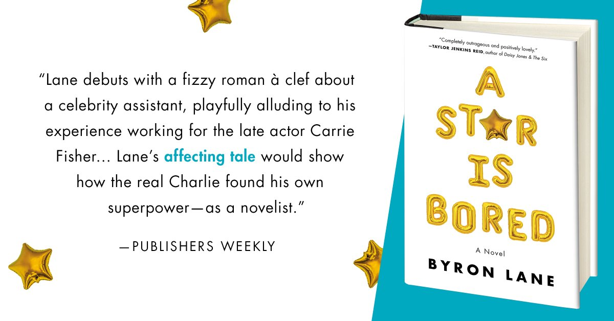 A STAR IS BORED by @byronlane is out 7/28! @PublishersWkly ow.ly/oMHc50AbKSF