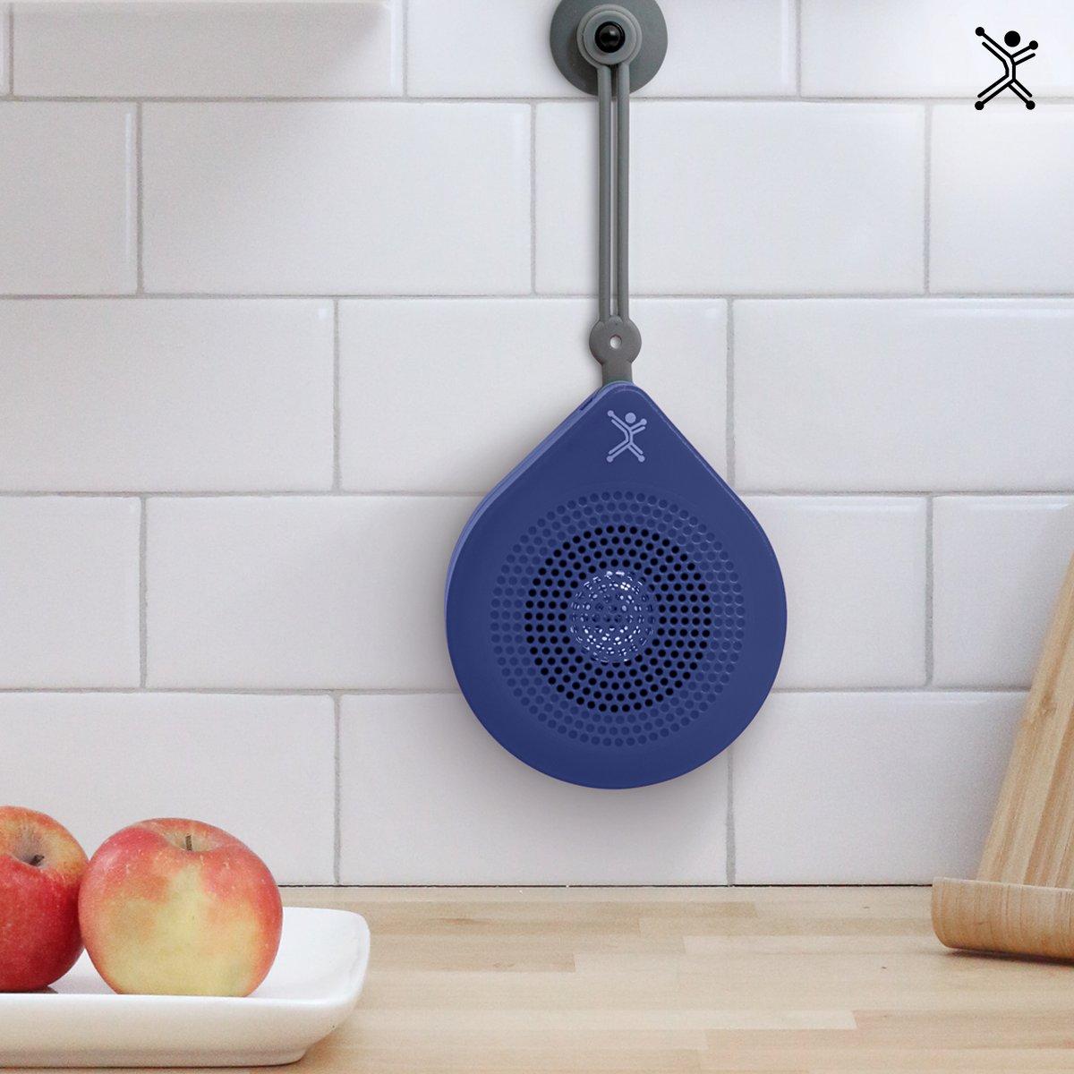 Drop cuenta con micrófono integrado para utilizarla como manos libres, además incluye una correa con ventosa para que las instales en la pared, cristal o espejo.  De venta en: https://t.co/e5gms9oD3Z #audio #speaker #music https://t.co/y0ndUfu367