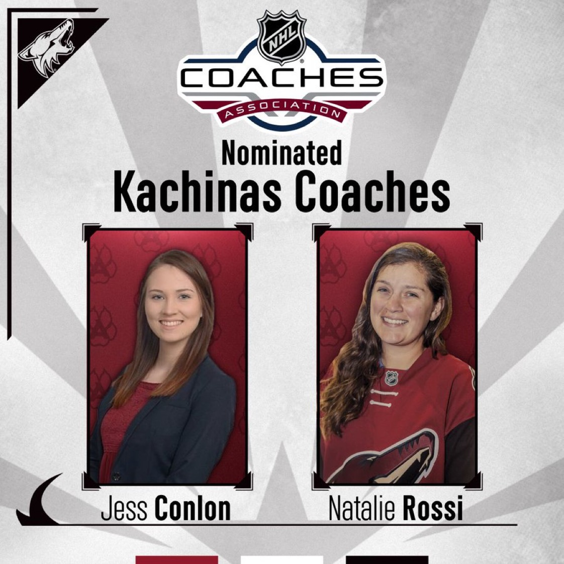 Making history, and fulfilling a dream at the same time! Hats off to @GCUWomensHockey HC Natalie Rossi, who is 1 of only 2 AZ coaches to earn a spot in the @NHLCoachesAssoc Female Coaches Development Program! Full story here: https://t.co/KVc58Amign #LivetheLopeLife #LopesRising https://t.co/08Hb791Ju7