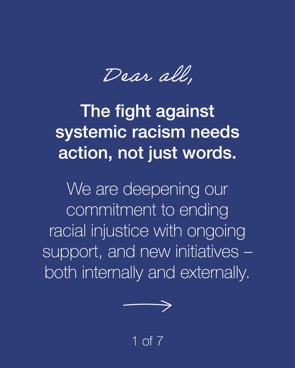 Ending systemic racism requires sustained action. We co-founded the #CROWNCoalition to fight race-based #HairDiscrimination against Black people. Now we're deepening our commitment with new initiatives to fight racial injustice in its many forms.  (1/2)