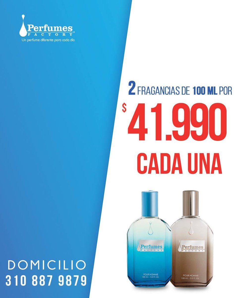 Junio es el #MesDePapá y sabemos que el mejor merece dos! 🎁  Lleva 2 perfumes a $41.990 cada uno (precio unitario regular $47.990 c/u).🥳 Ambas te saldrán en combo en $83.980 (precio regular $95.980).   Servicio Domicilio, #WhatsApp 📲 310 887 98 79 https://t.co/dLWcZNHXMI https://t.co/44qrUaXMHT