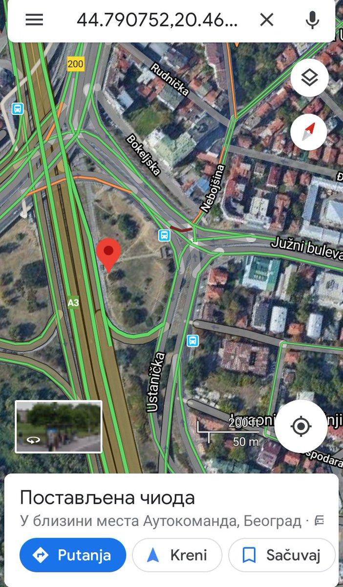 @prijavi_problem 3 ulaza izlaza za podzemni #Ustanička 1 #Nebojšina i ka #autoputu  Bilo poplavljeno. Tu je večito zastoj i pored podzemnog. Nije rešenje #podzemni #poplave za bolji i normalan saobraćaj jer se ionako stoji na semaforima i večito gužve na ulaz uključenje na #autopute75 #Ustaničku https://t.co/nThaob2kPw