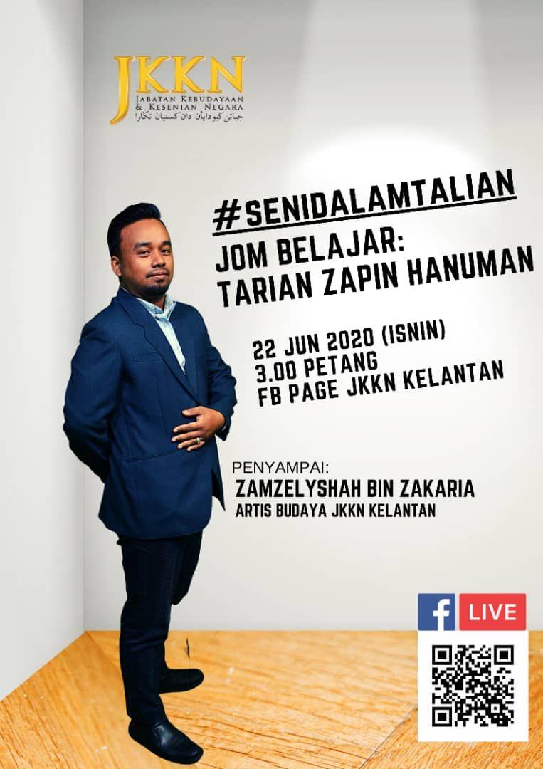 Jkkn در توییتر Jom Tonton Live Fb Bersama Team Jkkn Kelantan Live Fb Ini Khas Untuk Anda Set Reminder Anda 22 Jun 2020 Isnin 3 00 Petang Facebook Page Jabatan Kebudayaan Dan Kesenian Negara Kelantan