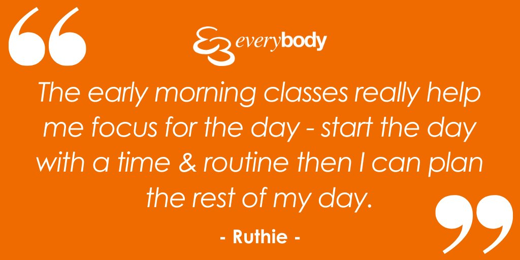 Does #exercising in a morning help you focus for the day?  Today's classes: 10am Everybody Boxing Circuits 10:45am Everybody Core 11:30am Les Mills Body Balance Check out our website to find out more about our free, live exercise classes & how to join in: https://t.co/m7QjWDeUd5. https://t.co/XY4a9z0TuS