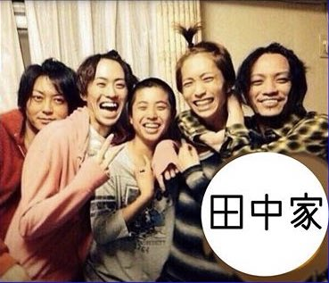 "☃️ on Twitter: ""Perfect picture of 5 siblings!! I don't remember seeing this pic?! It may be from idol mag when koki was still in janizu. #tanakakyoudai #tanakakoki #tanakajuri #田中聖 #田中樹…"