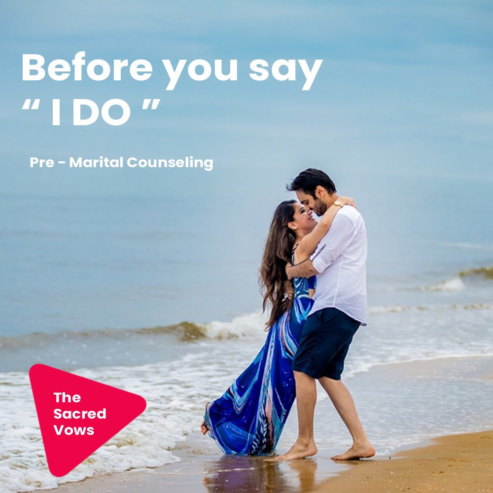 Before you say I do. How do you manage to be successful in your life while enjoying a flourishing marriage? Let #TheSacredVows teach and guide you by. #premarriagecounselling #successfulmarriagegudiance #marriagecounselling #marriageguidance https://t.co/G7z8djFdqa