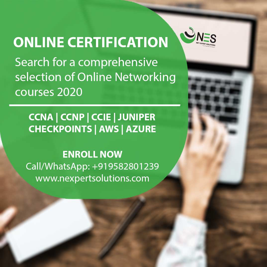 Starting learning with a wide range of online networking courses covering different technologies. Join us today! Call/WhatsApp: +919582801239 https://t.co/H8rf2ZLpK3 #networking #networkingskills #onlineclasses #certification #training #netexpertsolutions https://t.co/o2pxlIoExV