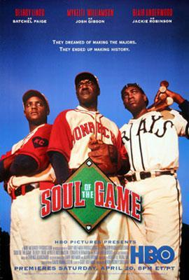 To honor #JUNETEENTH2020 our #SportsFlixFriday #POTD looks back at a film about the #negroleagues & of its great players would be the 1st to break baseball's #colorbarrier. @HBO's #SouloftheGame from 1996 is one of those hidden gems that everyone should treat themselves to watch!pic.twitter.com/PFRFyWNJlD