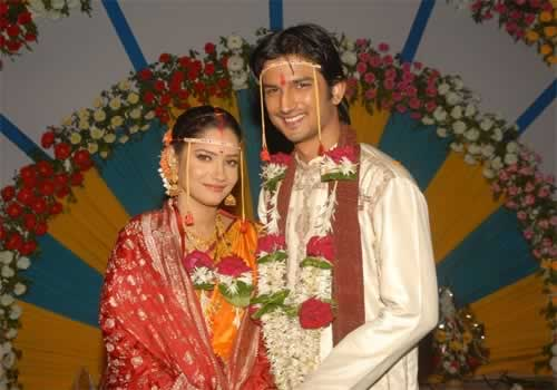 Sushant and Anikta in Pavitra Rishta serial on Zee TV