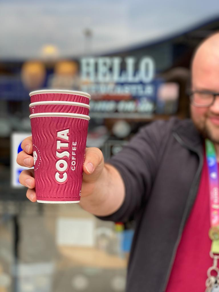 Picking up a coffee to go? All of our cups can now be returned back to our stores for recycling. Simply drop them in the marked bin at the front of store or bring your reusable cup to receive 25p off your handcrafted drink ☕️ *Applies to takeaway stores only. https://t.co/IarnxBSadR
