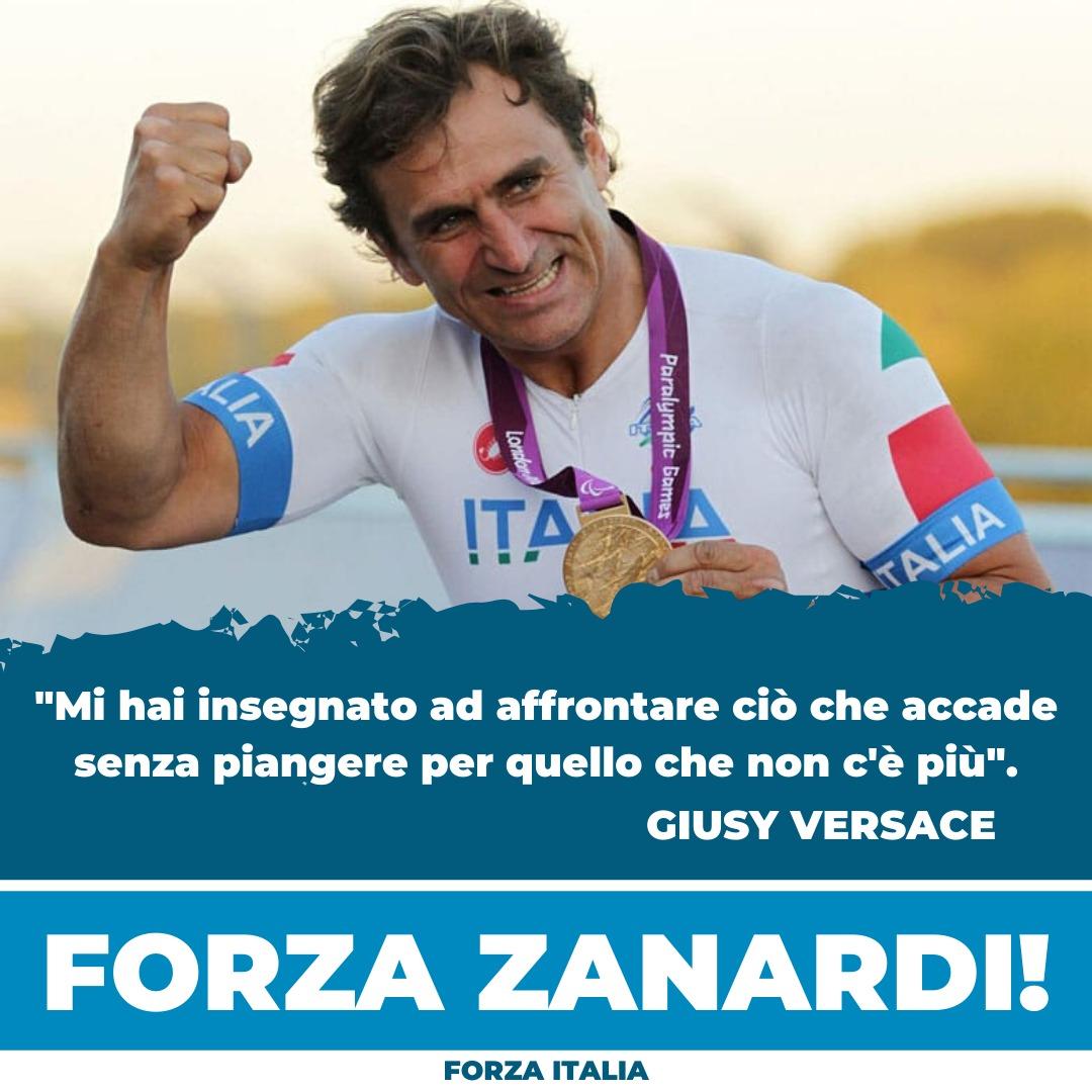 Forza Zanardi! https://t.co/hDVSsDaQvz