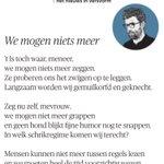 Image for the Tweet beginning: 🙊WE MOGEN NIETS MEER🙊  @demorgen: