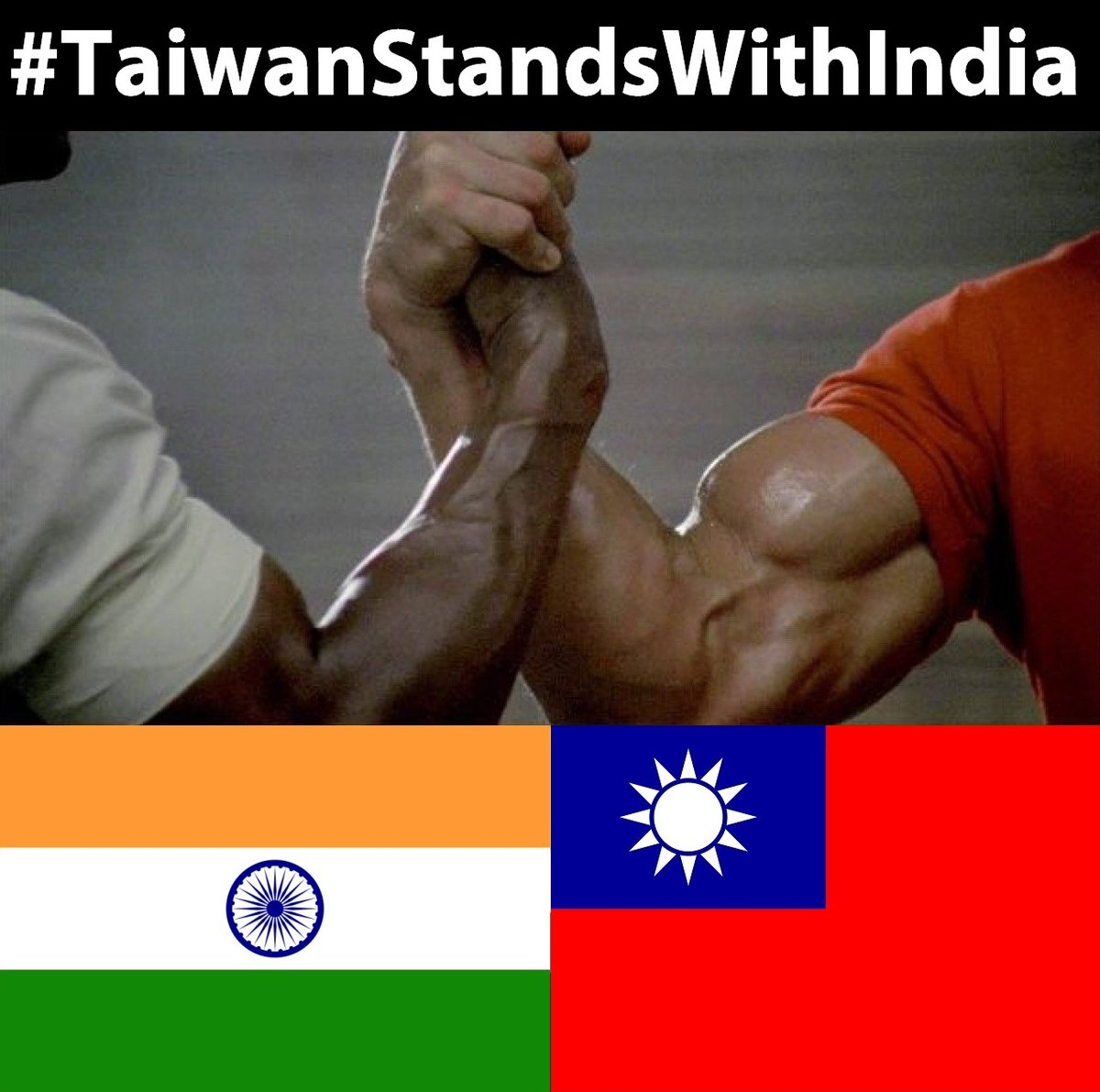 Photo of the Day: Taiwan stands with India #TaiwanStandsWithIndia https://t.co/B7LOQjP2eQ https://t.co/OlKHHUF4Ii