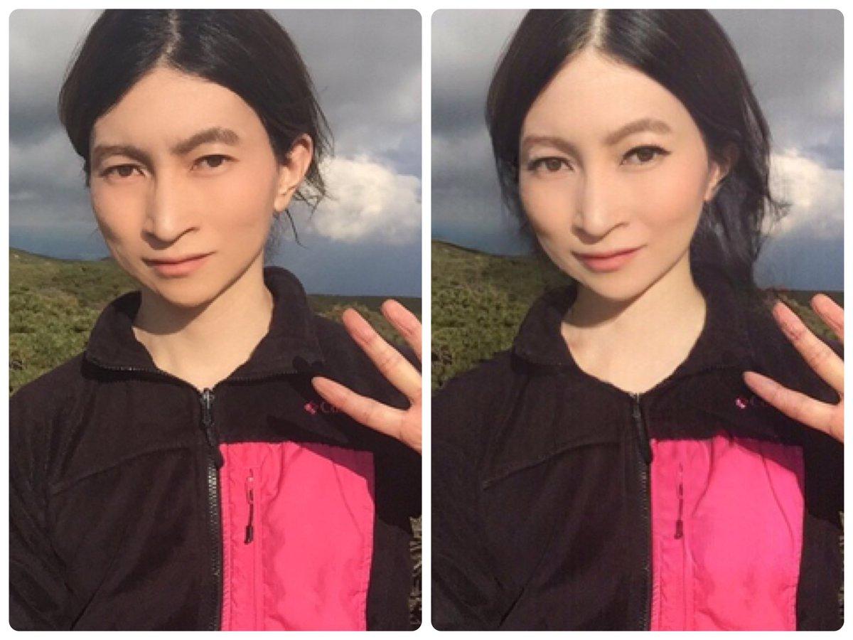 "勝部元気 Katsube Genki on Twitter: ""#FaceApp の性別変換機能、女性 ..."
