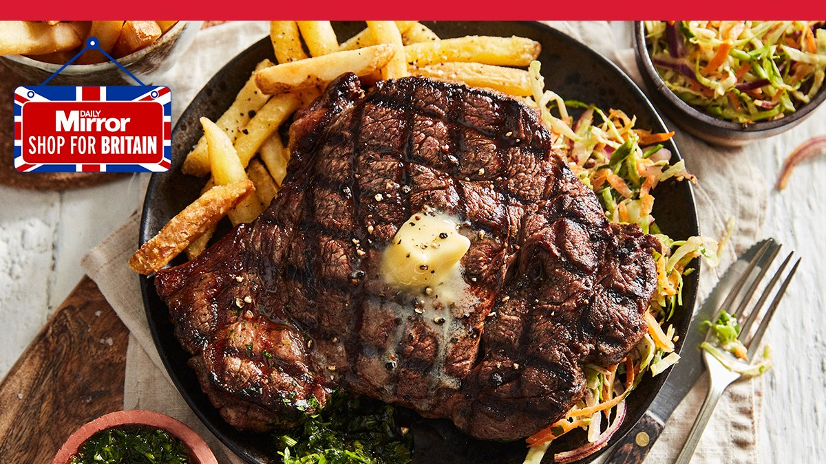Last minute gift ideas if you've forgotten it's Father's Day tomorrow:  1. The Big Daddy Steak from Iceland.  That's it. That's all you need.  https://t.co/baMBZe9YiZ https://t.co/Z2XGntSrxD