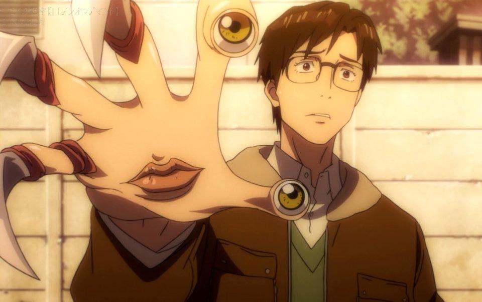 面白かったらリツイート #寄生獣 #anime