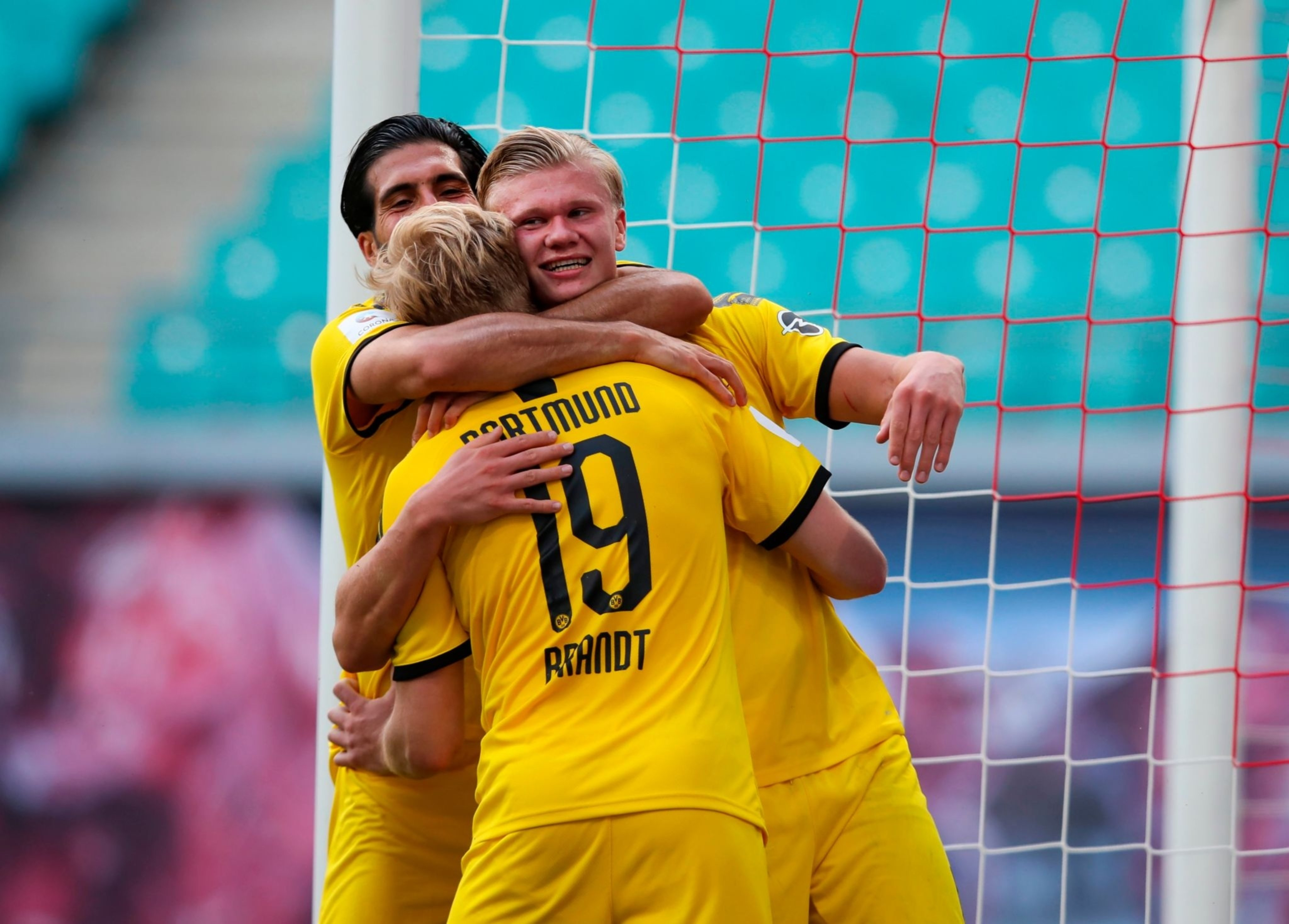 РБ Лейпциг - Боруссия 0:2. Дубль Холанда принес Дортмунду серебро - изображение 1