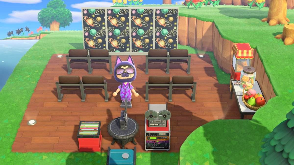 Enigmatic Lifeguard On Twitter Outdoor Movie Theater Animalcrossing Acnh Nintendoswitch