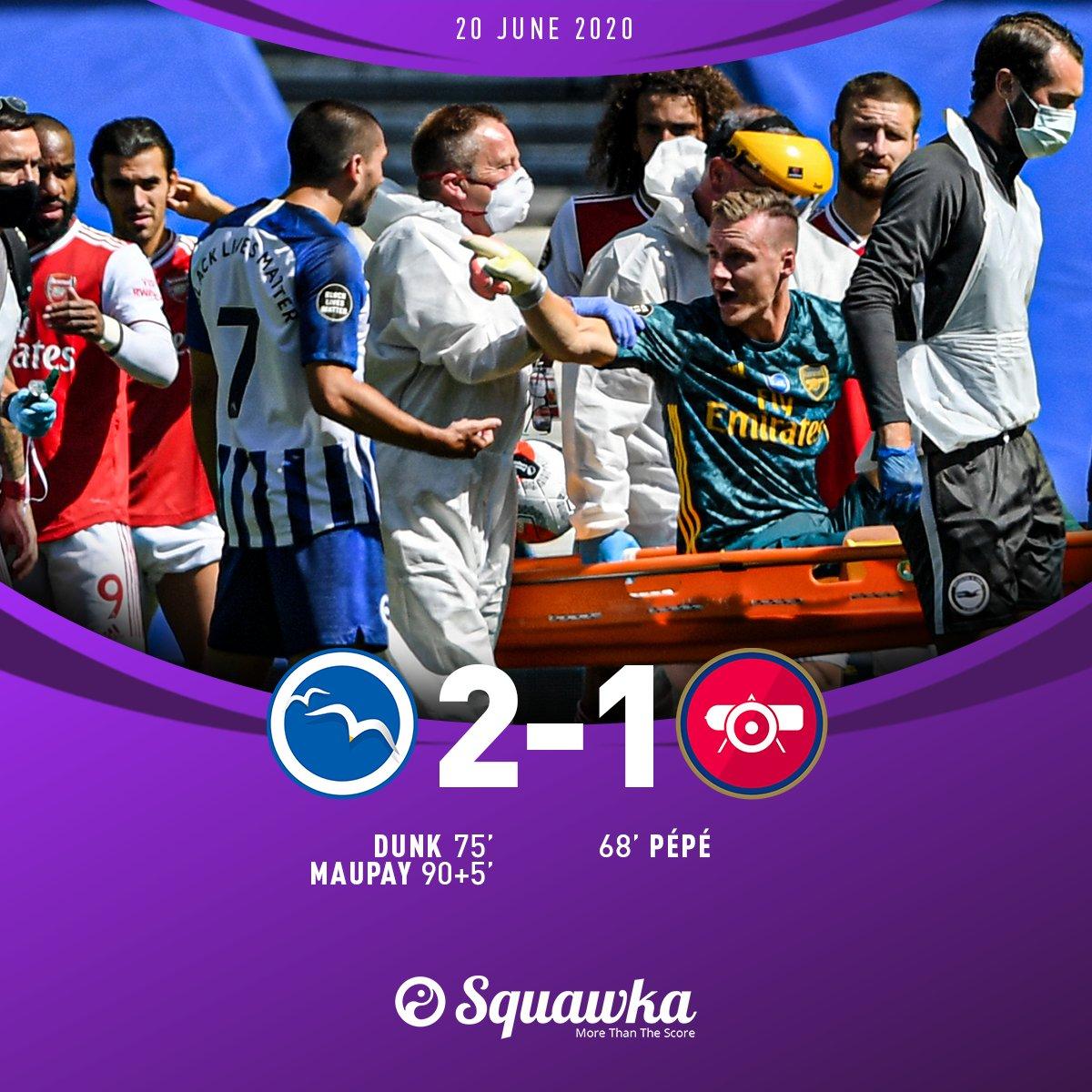 Brighton 2-1 Arsenal: Khóc hận phút bù giờ - 2