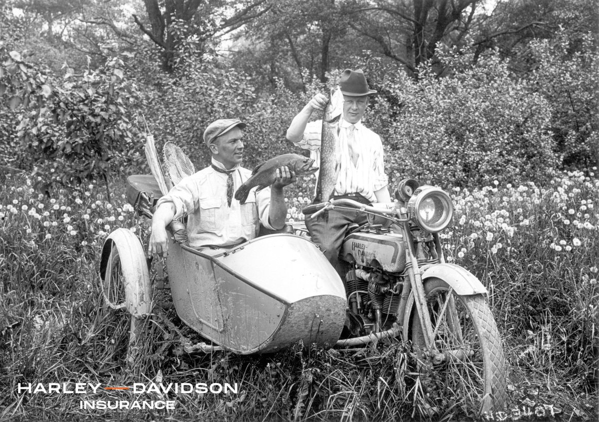 Did you know the #sidecar was initially developed for bicycles back in 1893?   Learn more about its history on The Open Road blog, powered by #HarleyDavidson Insurance ➡ https://t.co/0KbNY5JtqU   #HDMuseum #MuseumFromHome https://t.co/UHse660GYk