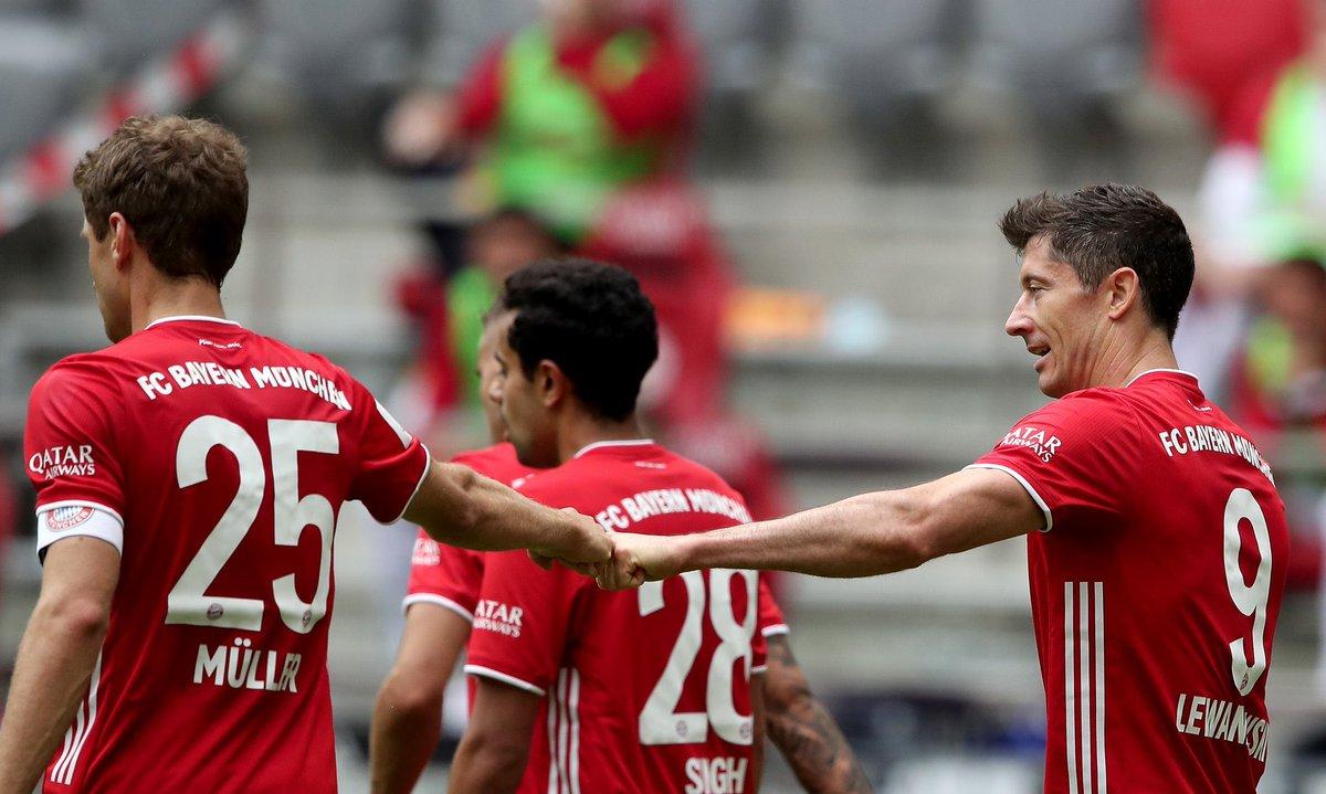 Xem lại bóng đá Bayern Munich vs Freiburg, Bundesliga – 20/06/2020