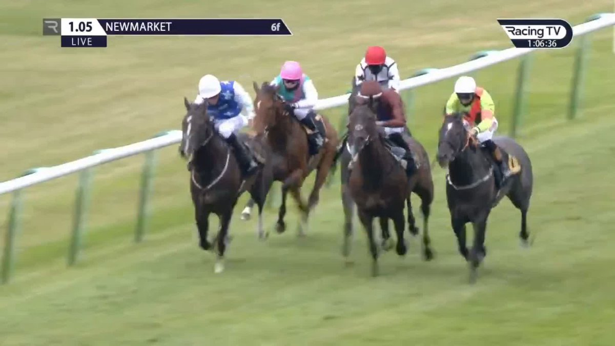 211-1 Ivatheengine defies top-weight on handicap debut and looks useful for Paul & Oliver Cole. Double for @Rossaryan15 and more good rides to come days after his breakthrough Royal Ascot success 👊 @whatcomberacing @NewmarketRace
