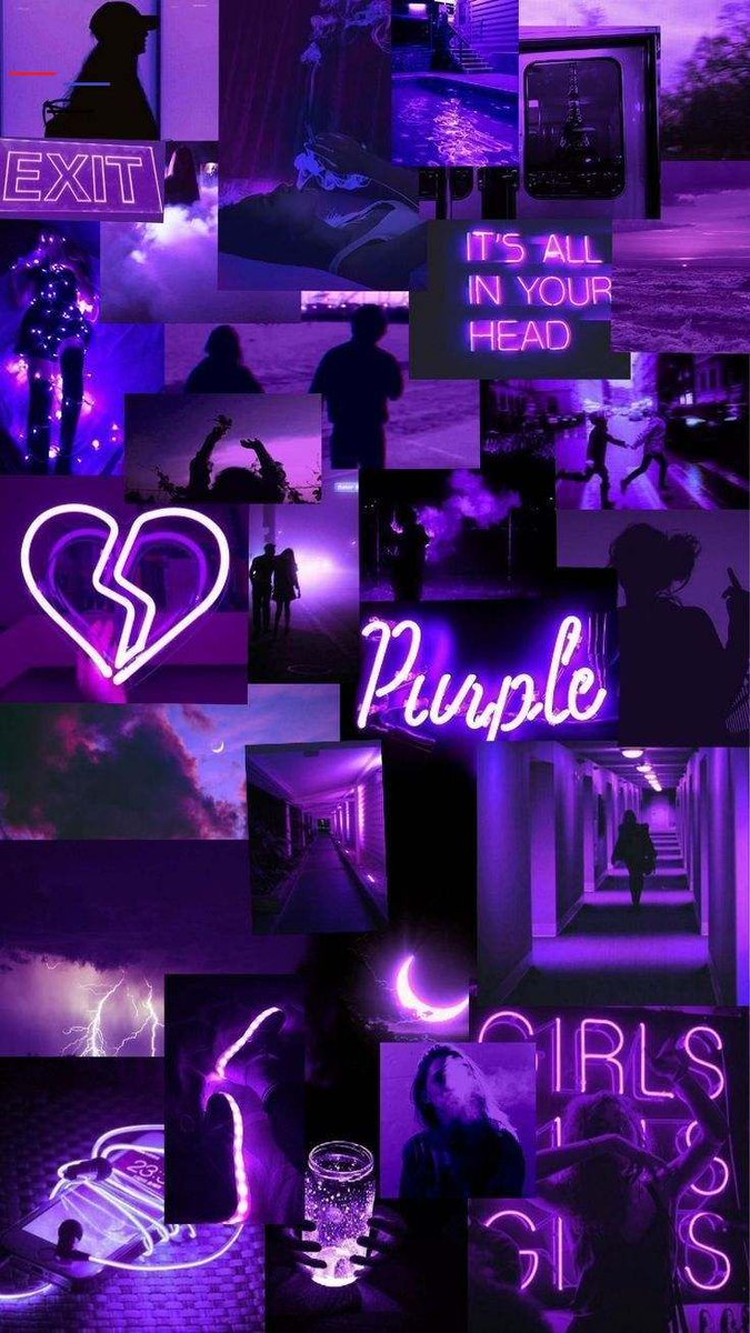 Wallpapers Aesthetic Purple : Image About Pink In ...