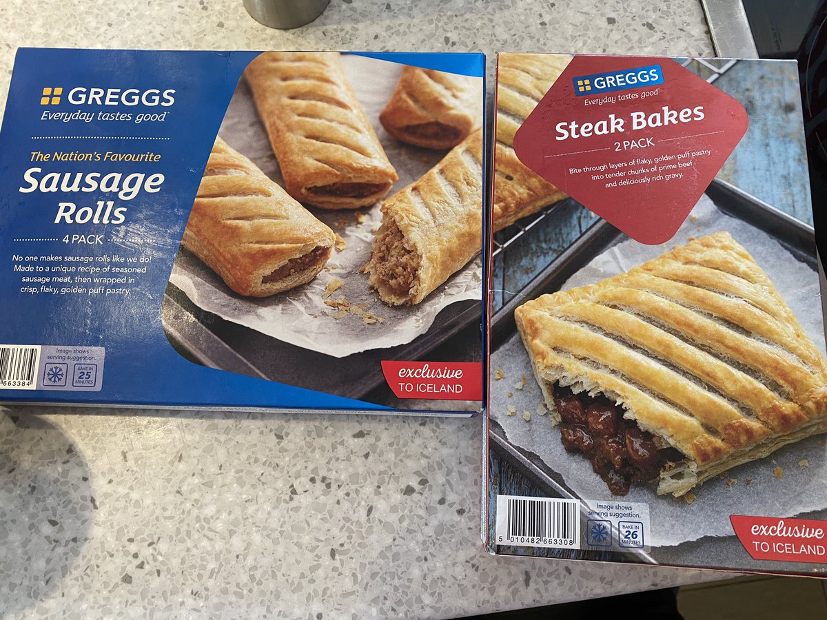 What can I say, I'm a company man 😂 🥧 @IcelandFoods do @GreggsOfficial! You're welcome! https://t.co/jc8FnnHviw