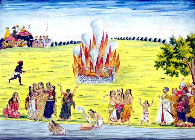 Sati Pratha (Thread)Hinduism is targeted by many who claim that Sati was an important part of Hinduism and it was forced upon women, they try to show that sati was very common practice. But is it true? Let's see