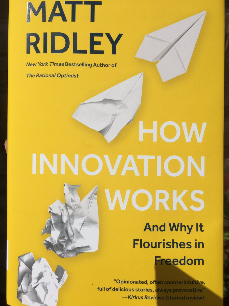 Look what arrived today! @mattwridley