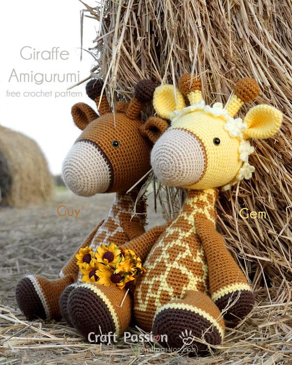 Hearty Giraffe amigurumi pattern - Amigurumi Today   750x600
