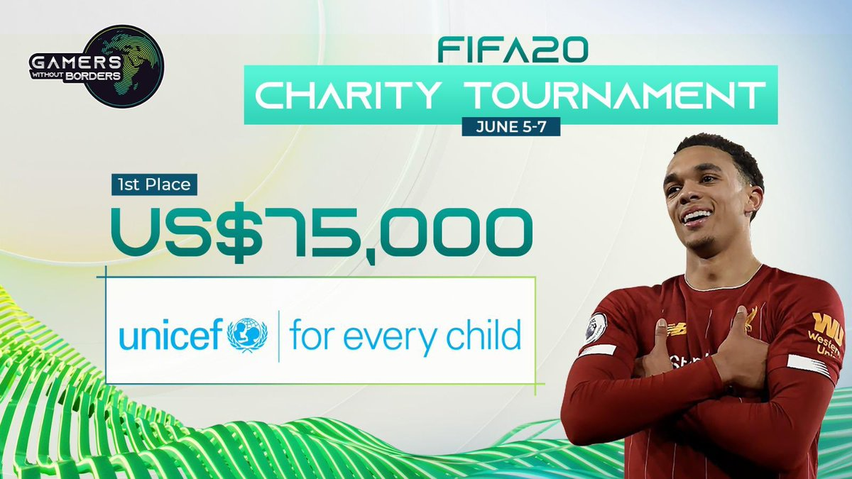 Not a bad Friday night... Beat @LiamPayne at FIFA at earned $75k charity prize money for UNICEF for covid-19 relief charities 👌 #gwbps #ad https://t.co/o8XEcqp4LP
