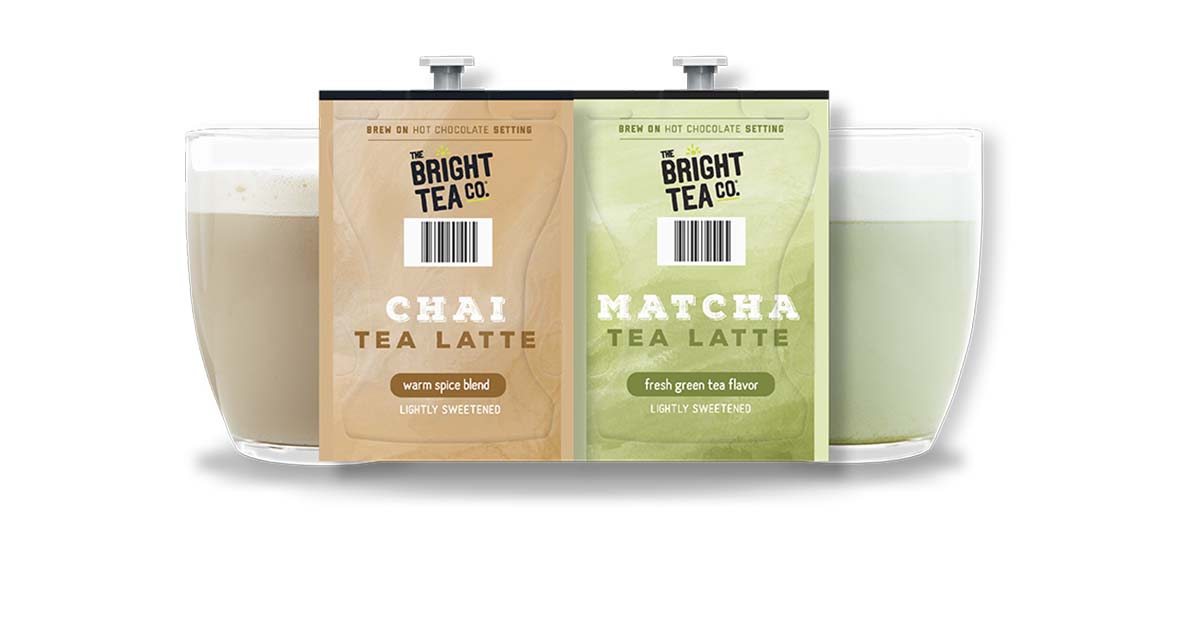 Smooth and indulgent, our new one-pack Bright Tea Co. Chai Tea Latte, as well as a refreshing Bright Tea Co. Matcha Tea Latte, are a must try! Contact your beverage distributor today! https://t.co/1TEf7GpV69 https://t.co/y5VUSQD6Bj