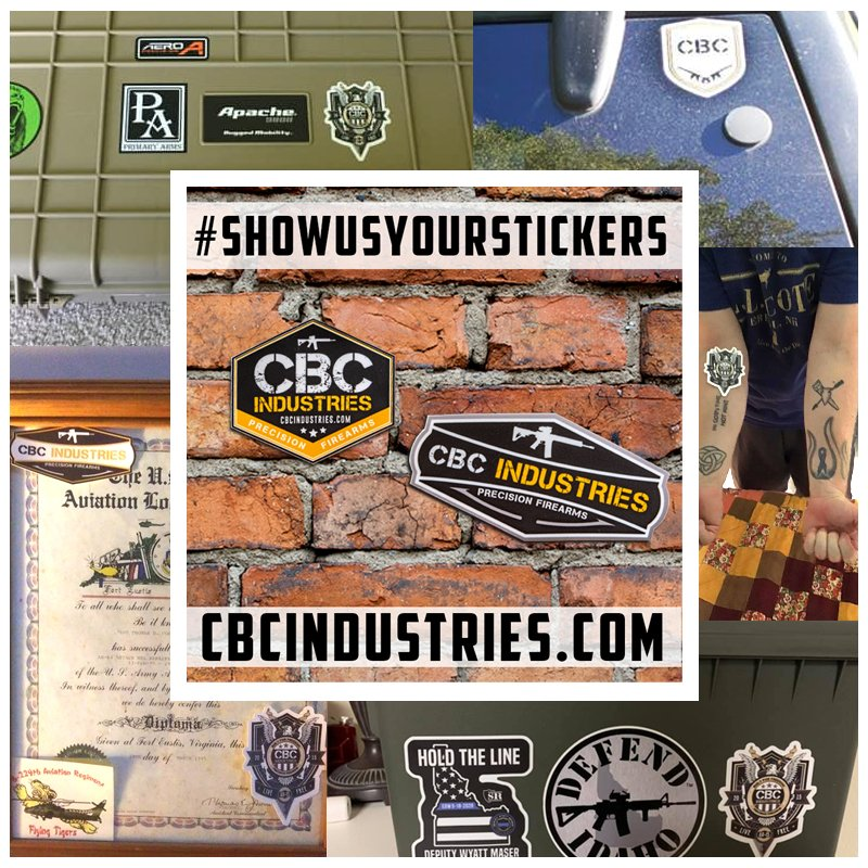 We love seeing where you are posting your stickers!!  #showusyourstickers #photobomb #cbcphotobomb #cbcindustries #america #usa #pewpew #stickers https://t.co/odx63mBJzc
