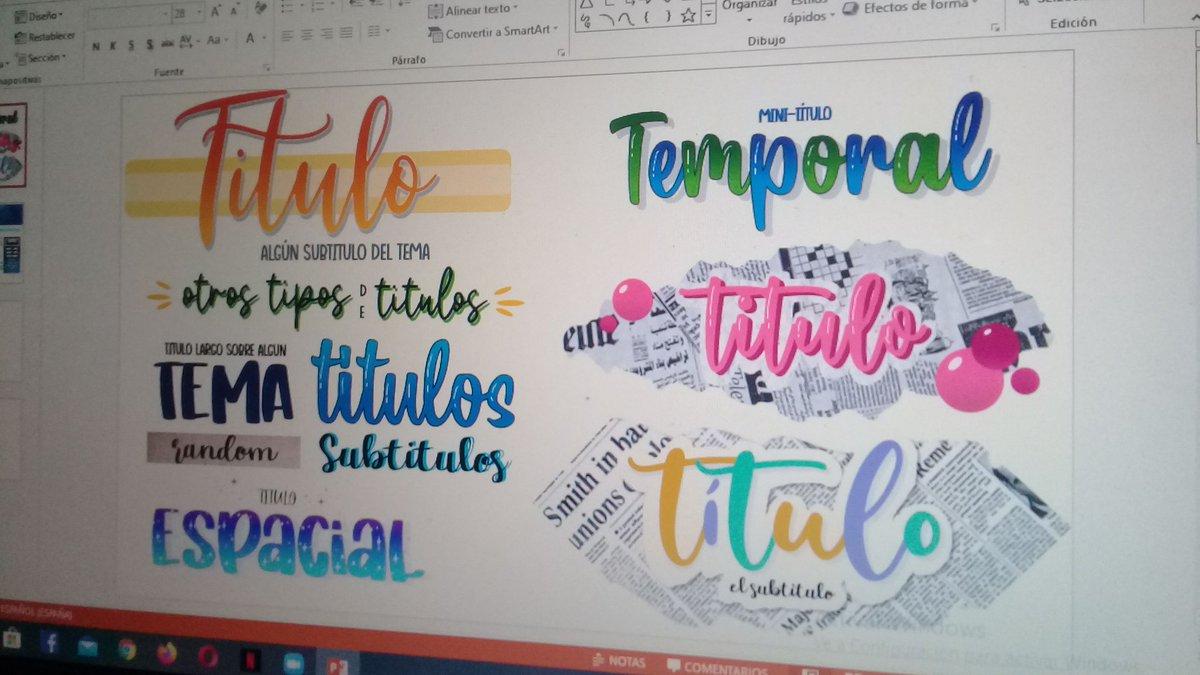 fav y les enseño a hacer titulos bonitos para sus tareas digitales https://t.co/cD3vPS2IN0