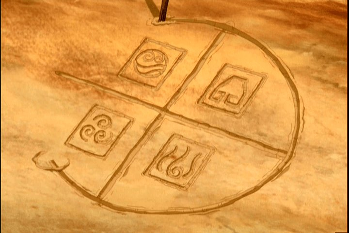Itoh draws the symbols of the 4 nations