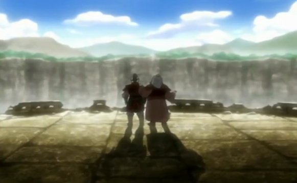 Zuko & Iroh at the air temple