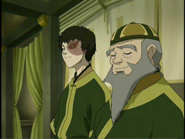 Zuko & Iroh at the tea shop
