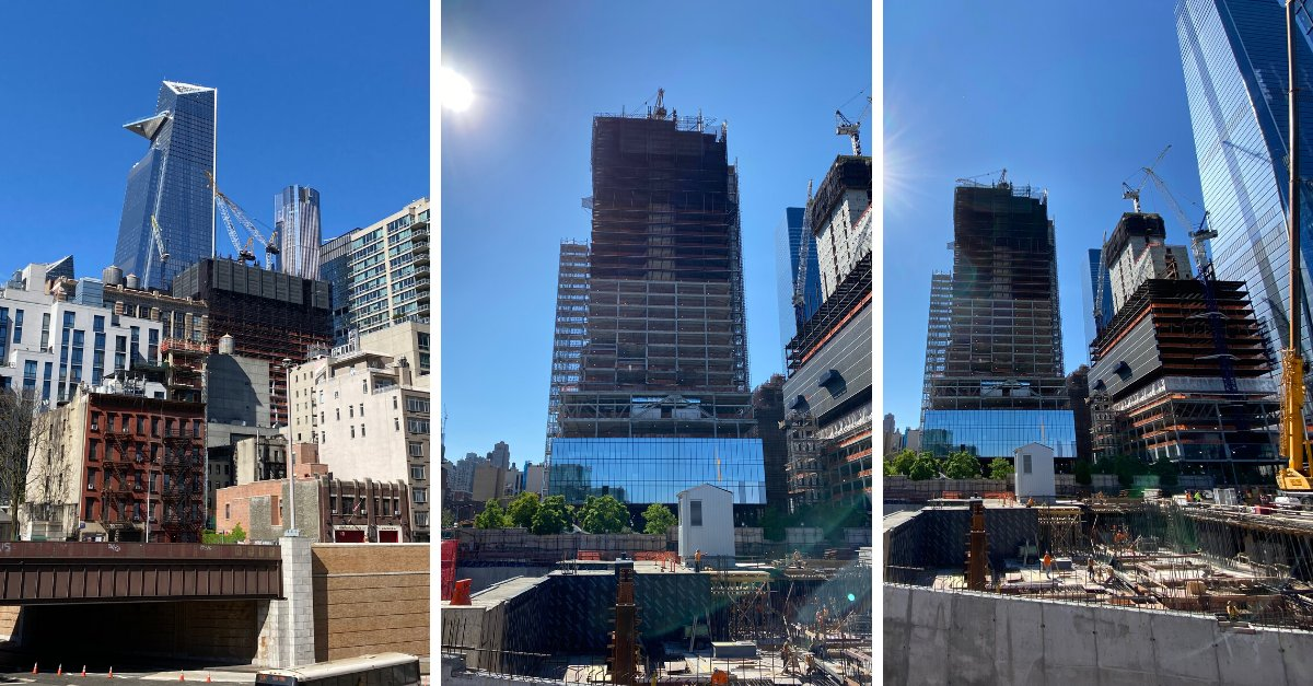Proud of our team of Banker Steel true professionals for the progress they've made on 66 Hudson as part of NYC's essential construction industry. . . . #nyc #nycconstruction #essentialworkers #nycconstructors #steelindustry #steelconstruction #steelfabrication #bankersteel