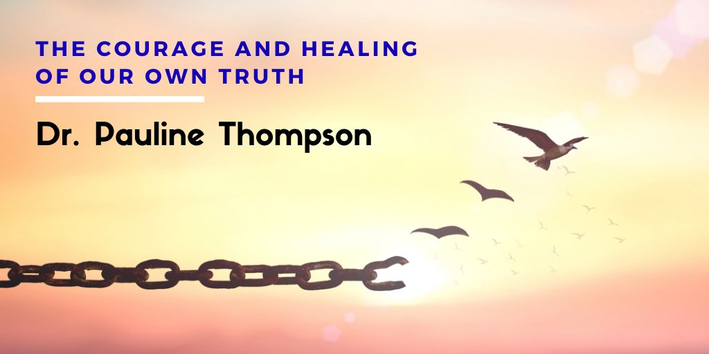 Dr. Pauline Thompson. The Courage and Healing of Our Own Truth. A huge-thank you to my sponsors for this episode: Sensorimotor Psychotherapy Institute and @cptsdfoundation. Listen to Dr. Pauline's Interview here: https://t.co/u5DnDROEF5 https://t.co/7HQZVN1IV9